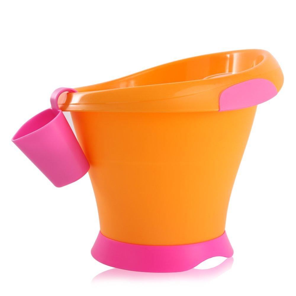 Vaschetta da Bagno Cocoon Arancio-Fucsia Mebby: Amazon.it: Prima ...