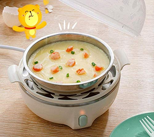 NAFE Eierkocher, Multifunktions-Frühstücksmaschine, 220 V, 7 Eier Eierkocherabdeckung, automatische Abschaltung, ideal für weich und hart gekochte Eier