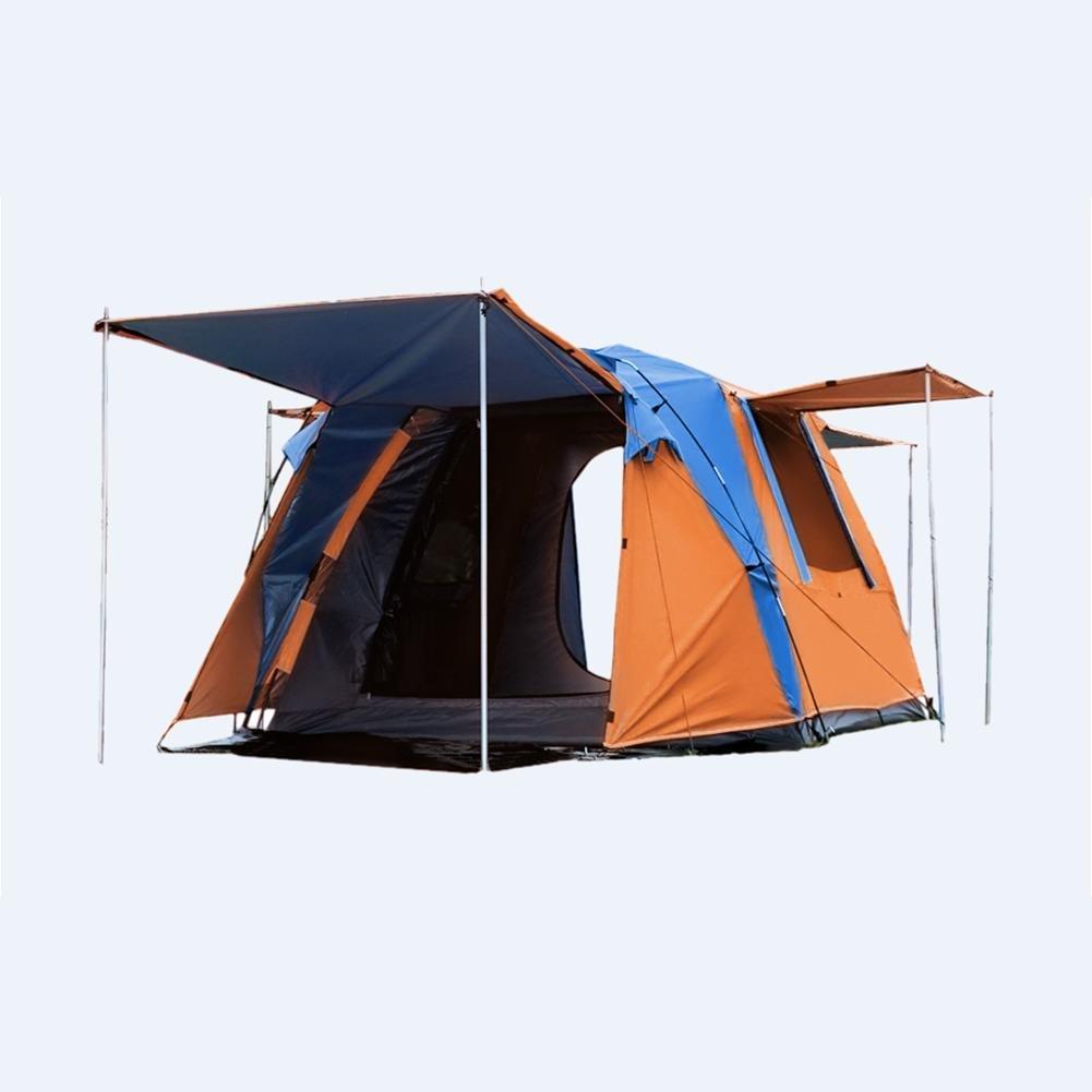 MIAO Outdoor Zwei-Tür Camping 3-4 Personen Regen Verhinderung Automatische Zelte