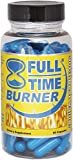 Full-Time Fat Burners For Men - Best Natural Fat Burner Pills That Work Fast - 90 Capsules