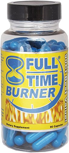 Full-Time Fat Burners for Men - Best Natural Fat Burner Pills That Work Fast - 90 Capsules