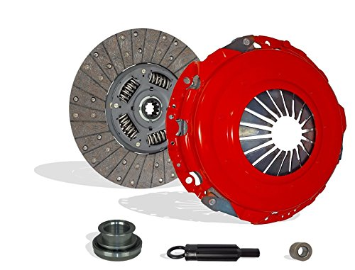 Clutch Kit Works With Gmc Chevy Silverado Suburban Base LT Cheyenne Sportvan Chevy Van Sierra 1985-1995 5.7L V8 CNG OHV 5.7L V8 GAS OHV 6.5L V8 DIESEL OHV Naturally Aspirated (Stage 1)