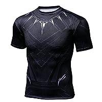 DAELI Short Sleeves Black Panther T-Shirt (XL.)