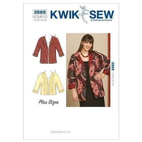 Amazon Kwik Sew K3585 Jackets With Dolman Sleeves Sewing