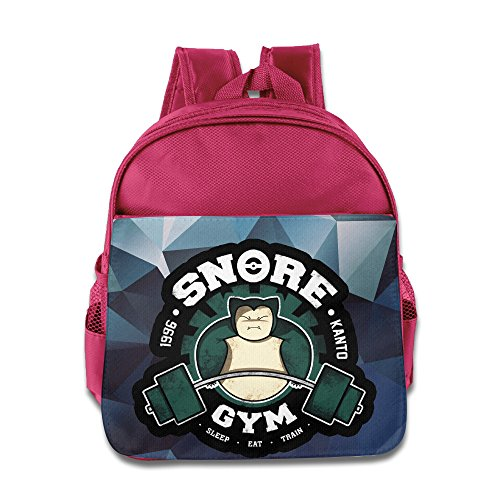(Logon 8 Poke Snorlax Gym 1996 Lovely Backpacks Pink For 3-6 Years Olds Girls)