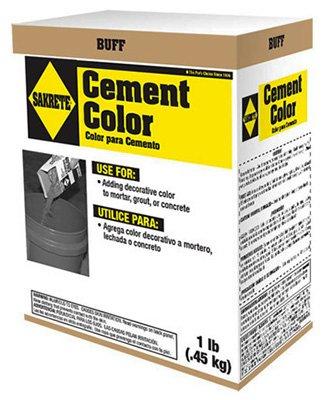 Sakrete 65075001 Buff Color Cement