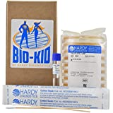 Science Experiment - BIO-Kid Microbiology Science Project Kit, 10 Tests per Kit, Bacteria Growing Kit by Hardy Diagnostics