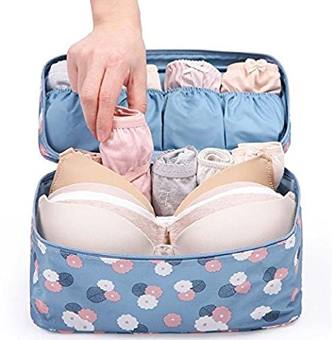 New Waterproof multi functional Ladies Women Lingerie bra underwear bag closet organizer Storage Pockets Box Travel Accessories