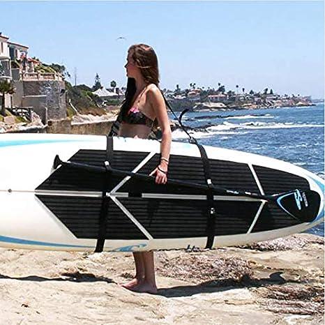 ROKOO Correa de Hombro para Tabla de Surf Correa de Transporte Ajustable Correa de Surf para Surf Surf Stand Up Surf: Amazon.es: Deportes y aire libre