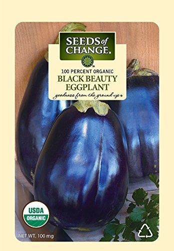 Seeds of Change Certified Organic Imperial Black Beauty Eggplant