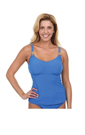 e22e65b2c9 Maidenform Beach Lucky Streak Lift & Support UW Tankini Swim Top at ...