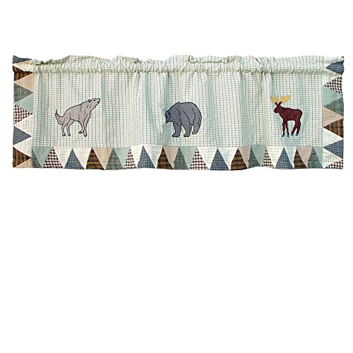 Patch Magic Mountain Whispers Curtain Valance, 54-Inch by 16-Inch For Sale