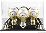 Philadelphia Phillies Golden Classic Three Baseball Logo Display Case