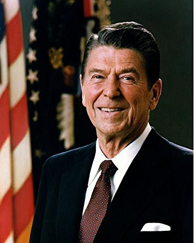 Official Portrait of President Ronald Reagan (#9) Photo by
