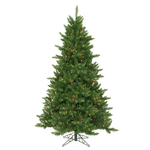 Vickerman 65' Camdon Fir Artificial Christmas Tree with 600 Multi Lights Camdon Tree