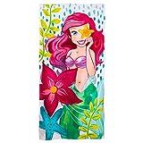 #8: Disney Ariel Beach Towel for Kids