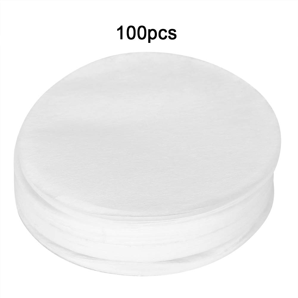 GLOGLOW 100Pcs Per Set Coffee Filter Paper Replacement Filter for Coffee Mocha