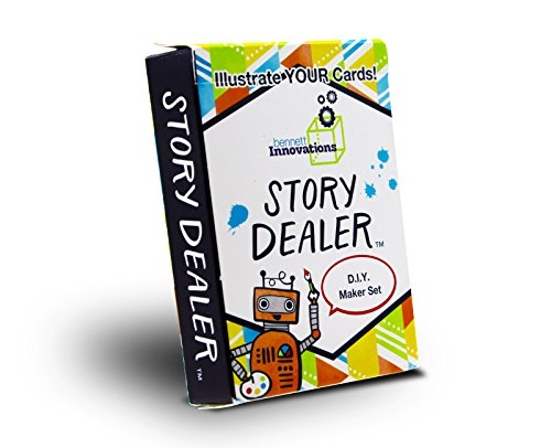 Story Dealer Steam/STEM Games for Kids | D.I.Y Makerspace Edition | Educational and Fun Storytelling Cards to Start Creative Thinking Games.