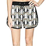 Women's Cute Penguins are My Spirit Animal Beach Gym Mini Shorts