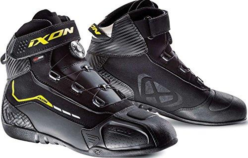 Ixon Motorcycle Boots Soldier Evo Black/Yellow, Black/Yellow, 44 ()