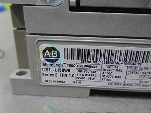 ALLEN BRADLEY MICROLOGIX 1000 1761-L16BWB SER. E CONTROLLERUSED by Allen-Bradley