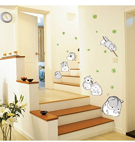 3D-Self-adhesive-Removable-Cute-CartoonBirds-Play-Football-Vinyl-Wall-StickerMural-Art-Decals-Decorator-for-Kids-Nursery-Room