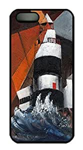 Art Hook Lighthouse Wexford Back Case For Sam Sung Galaxy S4 Mini Cover (526 art) _618074