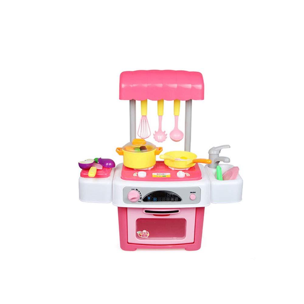 Byx- Giocattoli - Magic Kitchen Simulazione Casa Cucina Giocattoli Regali per Bambini Puzzle Fai da Te 3-6-6 Giocattoli -Giocattoli