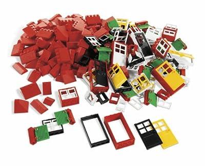 LEGO Education Doors, Windows & Roof Tiles Set 779386 (278 Pieces)