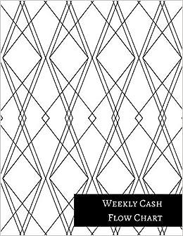 amazon com weekly cash flow chart 9781521303733 insignia