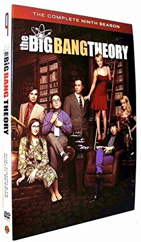The Big Bang Theory : Complete Ninth Season (Series Season 9, 3-DVD Set) USA Format Region 1
