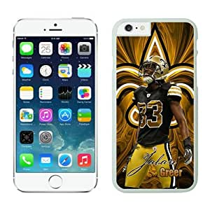 New Orleans Saints Jabari Greer Case For iPhone 6 Plus White 5.5 inches