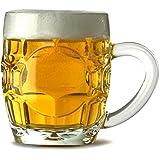 Arcoroc Britannia - Jarra de cerveza (4 unidades, 285 ml, media pinta)