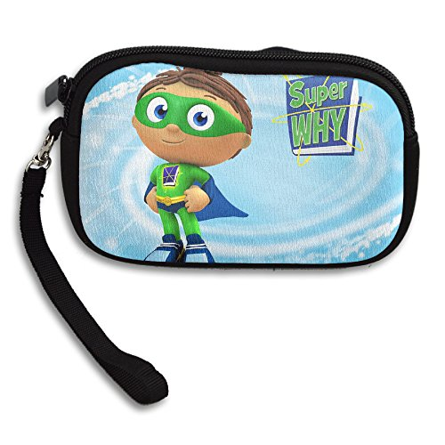 Super Why Purse Wristlet Bag