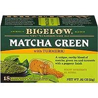 Bigelow Tea Matcha Green Tea with Turmeric, 18 Count (Pack of 6), 108 Tea Bags Total