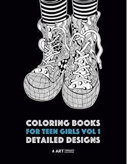 Amazon.com: Coloring Book for Teens: Get Creative, Be Inspired, Have ...