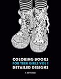 Best Teenager Books - Coloring Books For Teen Girls Vol 1: Detailed Review