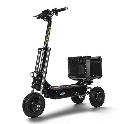 MAQLKC Scooter eléctrico, Scooter de Tres Ruedas, Plegable ...