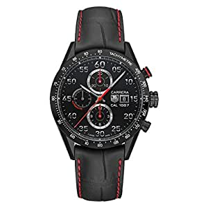 TAG Heuer Men's Carrera Black Titanium Automatic Chronograph Watch