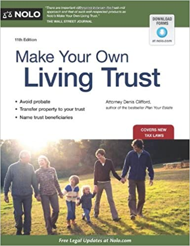 Make Your Own Living Trust: Denis Clifford: 9781413318357: Amazon ...