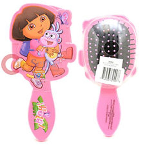 Granny's (c) Disney Pretend Play Dora the Explorer and Boots Large Diecut Hair Brush - Dora The Explorer Costume Makeup