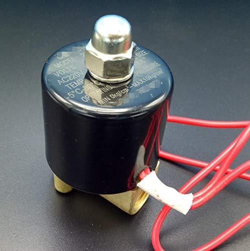 - BIN BON - BRASS PART Electric Solenoid Valve Water Air N/C 1/4