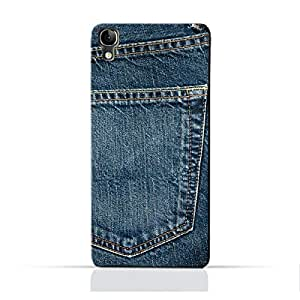 AMC Design ALCATEL Idol3 4.7 TPU Silicone Protective Case with Jeans Pocket Design