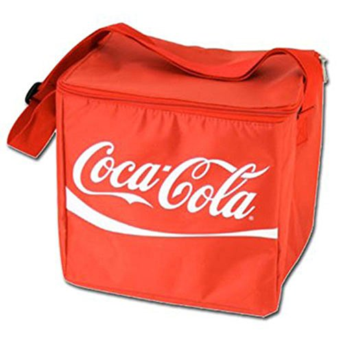 Coca Cola 12 Can Insulated Soft Cooler Bag