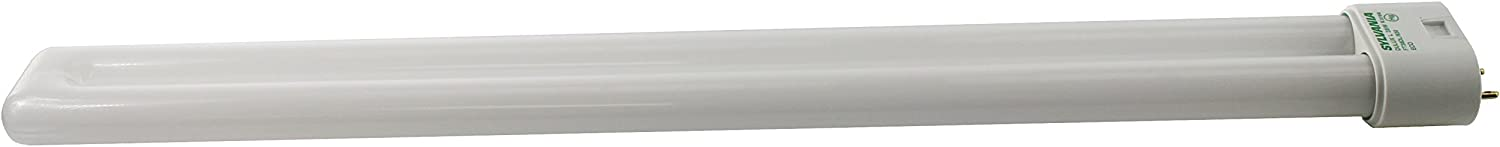Color Satco S6763 Transitional Light Bulb in White Finish 16.59 inches