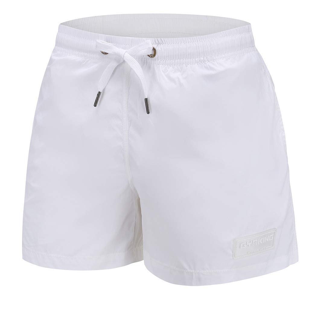 Manzzy Men Spring Summer Trunks Quick Dry Beach Surfing Swimming Short Pant