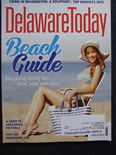 Delaware Today Beach Guide June 2015