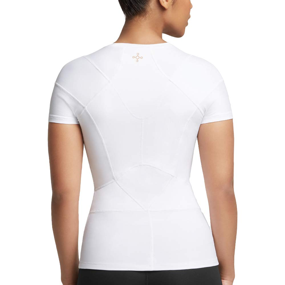 Tommie Copper Women's Pro-Grade Shoulder Centric Support Shirt, White, Small by Tommie Copper (Image #3)