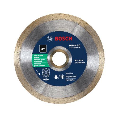 Bosch DB443C 4-Inch Premium Continuous Rim Diamond Blade