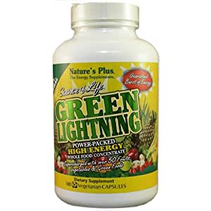 Natures Plus SOURCE OF LIFE GREEN LIGHTNING Vtapas 180